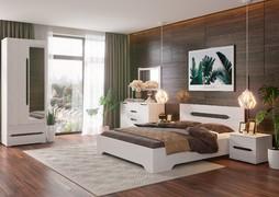 Модульная спальня Валенсия дуб анкор светлый композиция-1