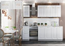 Кухня Вита Голд 1,8м белый