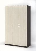 Шкаф 3-х створчатый Бася ШК 557 венге - дуб белфорт