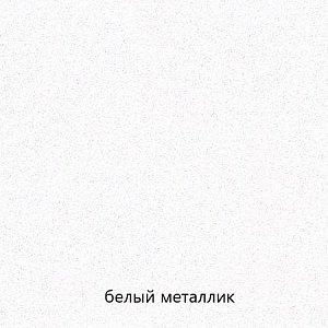 Кухня Линда МДФ белый металлик - баклажан глянец комплект 2,8м
