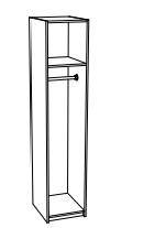 Пенал со скалкой ПН 711 Мальта белфорт - венге