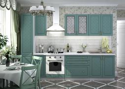 Модульная кухня серии Модена дуб бирюза
