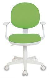 Кресло детское Бюрократ CH-W356AXSN салатовый