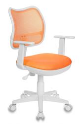 Кресло детское Бюрократ CH-W797 оранжевый