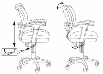 Кресло детское Бюрократ CH-W797 розовый