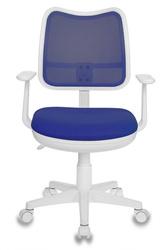 Кресло детское Бюрократ CH-W797 спинка сетка синий