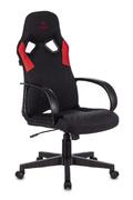 Кресло игровое Zombie RUNNER черный/красный