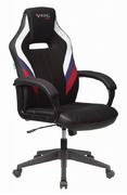 Кресло игровое Zombie VIKING 3 AERO белый/синий/красный