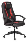 Кресло игровое Zombie VIKING-8 черный/красный