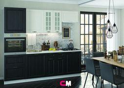 Модульная кухня серии Мария МДФ черный