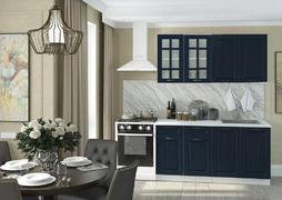 Модульная кухня серии Мария МДФ синий