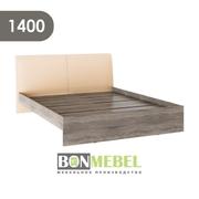 Кровать Доминика 1400 дуб сонома трюфель