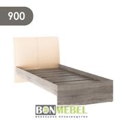 Кровать Доминика 900 дуб сонома трюфель