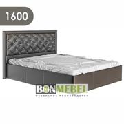 Кровать Мишель 1600 стразы