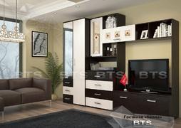 Модульная гостиная Белла венге - дуб атланта комплект-1