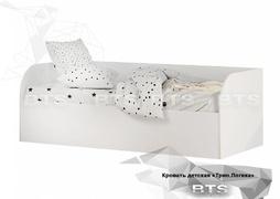 Кровать с подъёмным механизмом Трио КРП-01 Белый