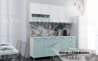 Кухня Тиффани 2,0м кенди - белый