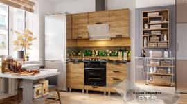 Модульная кухня серии Крафт ЛДСП