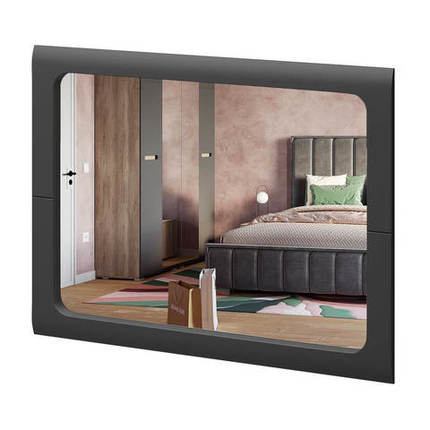 Зеркало Наоми З-03 графит нубук