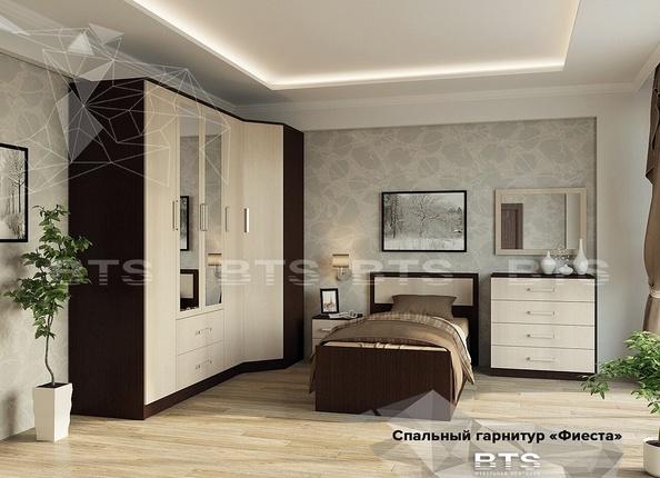 Модульная спальня Фиеста венге - лоредо комплект-2