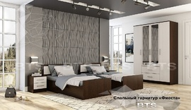 Модульная спальня Фиеста венге - лоредо комплект-3