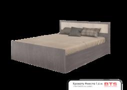 Кровать 1,6м Фиеста ясень темный-ясень светлый