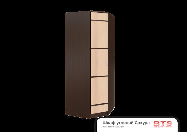 Шкаф угловой Сакура венге - лоредо