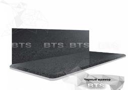 Столешница Черный мрамор 38мм - 3050мм