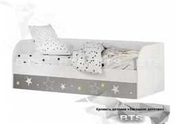 Кровать детская (с подъёмным механизмом) Трио КРП-01 Звёздное детство