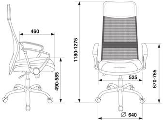 Кресло руководителя CH-600SL черный
