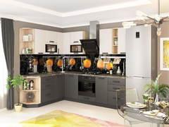 Модульная кухня серии Контемп МДФ графит