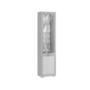 Пенал с витриной ЛШ-4 Ливорно ясень анкор светлый