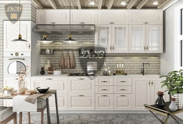 Кухня Гранд МДФ крем комплект 3,6м