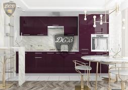 Модульная кухня серии Капля баклажан