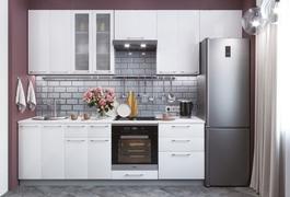 Модульная кухня серии Олива снег