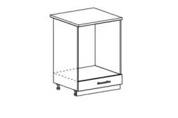 Шкаф нижний под духовку Орио СД 600 МДФ Киви