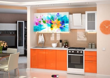 Кухня с фотопечатью Фантазия 2,0 м