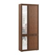 Шкаф комбинированный с зеркалом ЛШ-9 Ливорно орех донской
