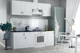 Кухня Гранд 2,1м белый