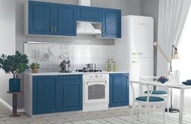 Кухня Гранд 2,1м синий