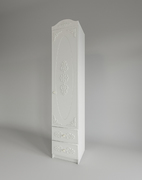 Шкаф с ящиками Ki-Ki ШД 450.1 белое дерево