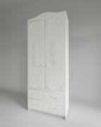 Шкаф с ящиками Ki-Ki ШД 900.1 белое дерево
