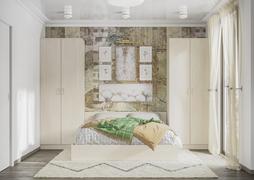 Модульная спальня Ронда сосна карелия комплект-1