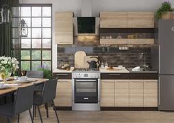 Кухня Маша-2 1,6м венге - дуб сонома