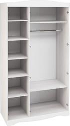 Шкаф 3-х створчатый Флора ШК-3 анкор светлый - белый софт
