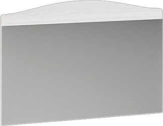 Зеркало навесное Флора ЗН анкор светлый - белый софт