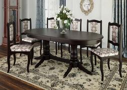 Стол обеденный Корвет-2 темный орех