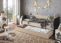 Кровать двухспальная Балли венге - анкор