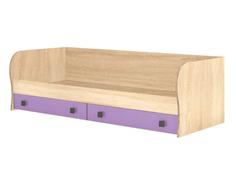 Кровать с ящиками Колибри дуб сонома - виола