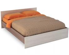 Кровать КР 557 Бася 1400 шимо темный - шимо светлый